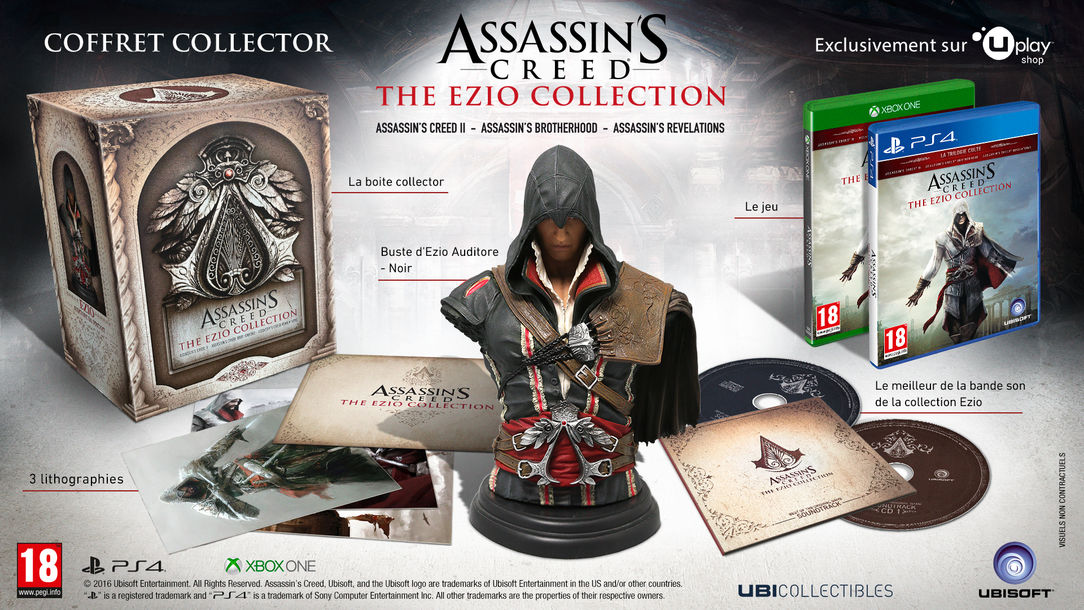 Assassin's Creed The Ezio Collection Edition Collector