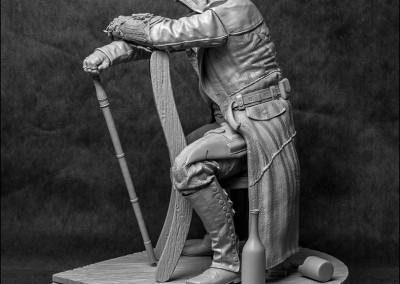 Statue Jacob Frye - Profil G