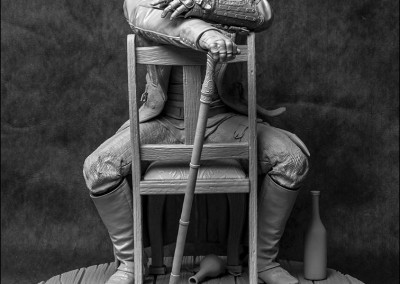 Statue Jacob Frye - Avant
