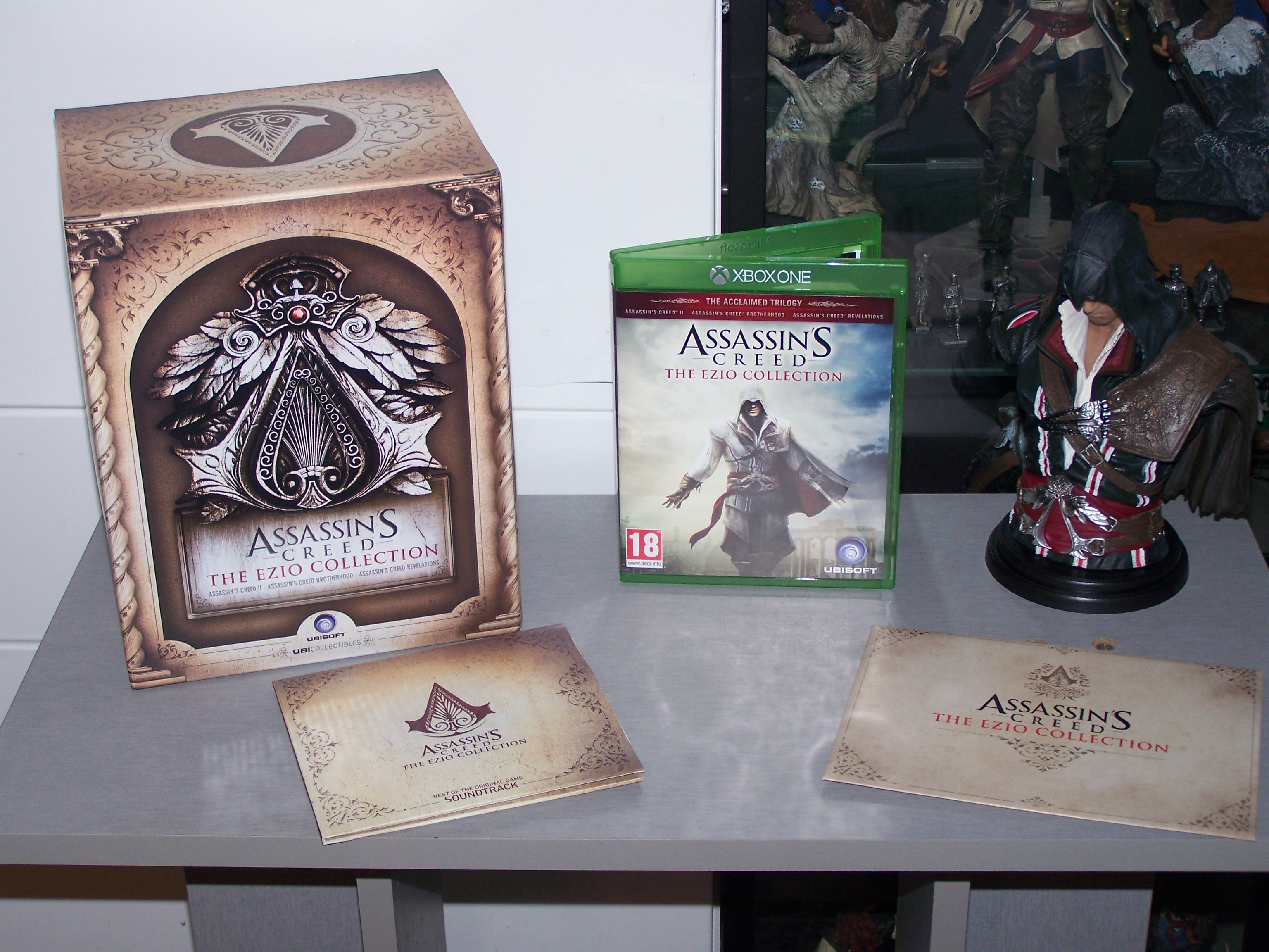 Assassin's Creed Ezio Collection Edition Collector déballé