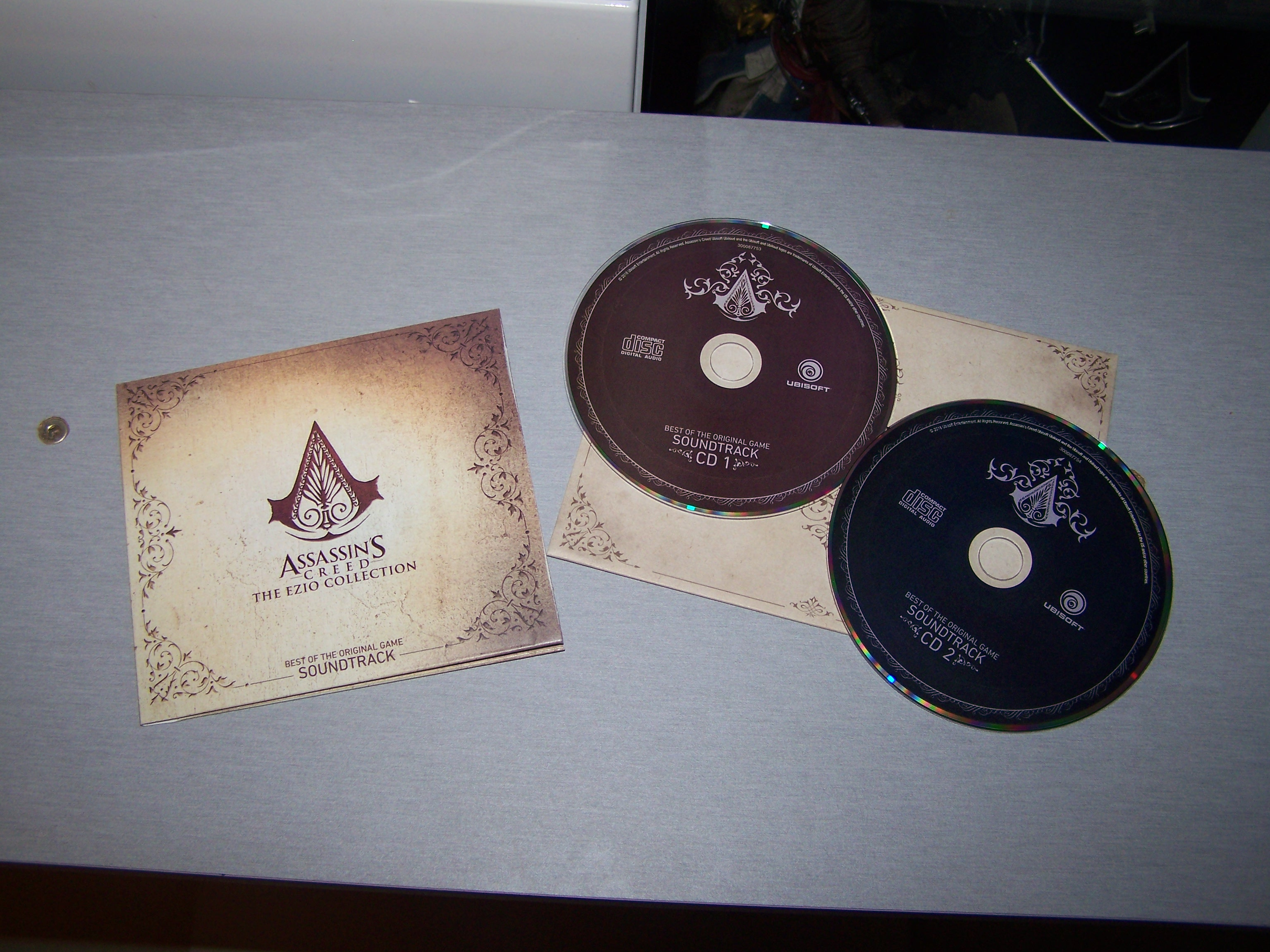 Assassin's Creed Ezio Collection OST de l'édition