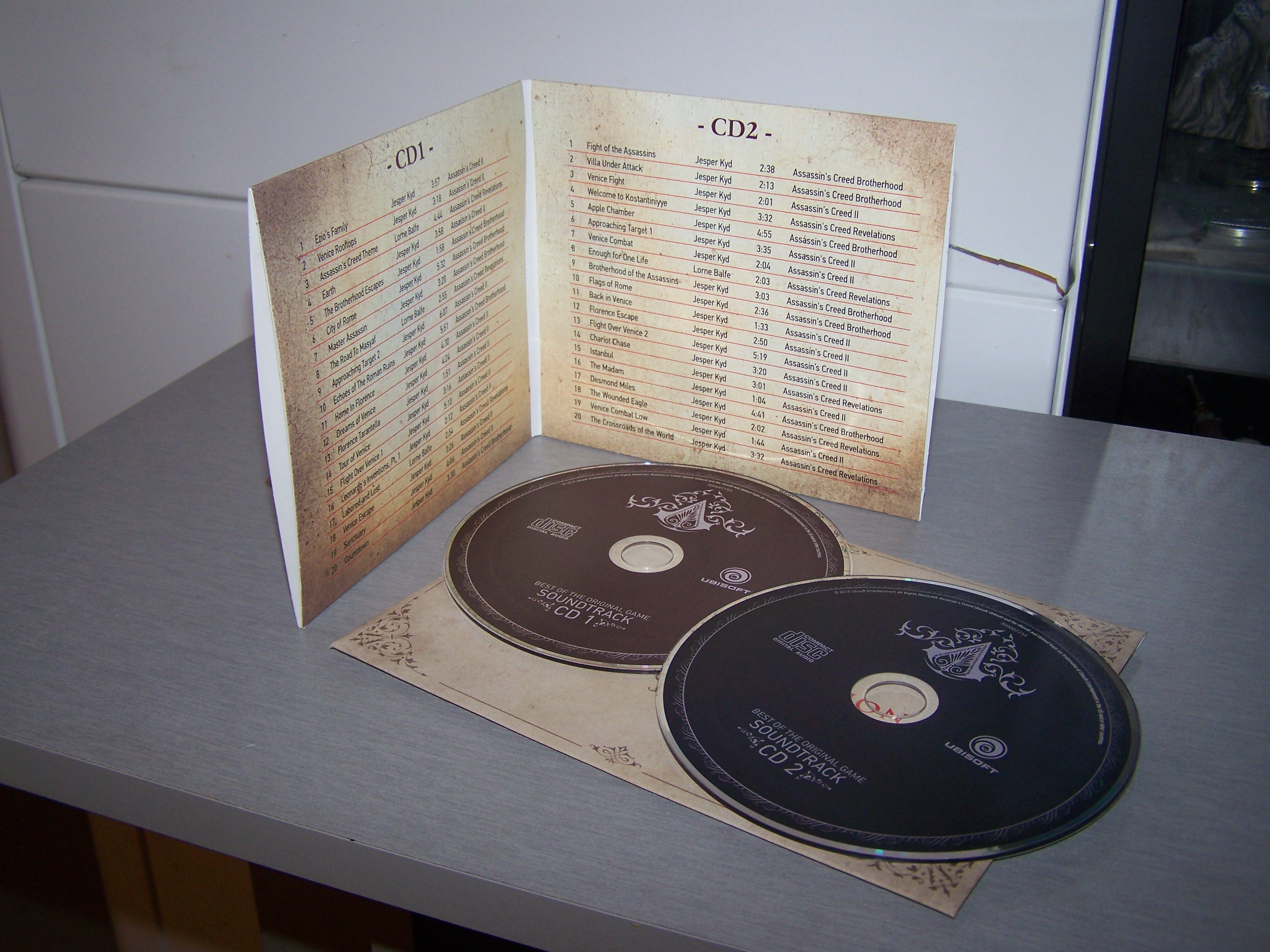 Assassin's Creed Ezio Collection OST contenu