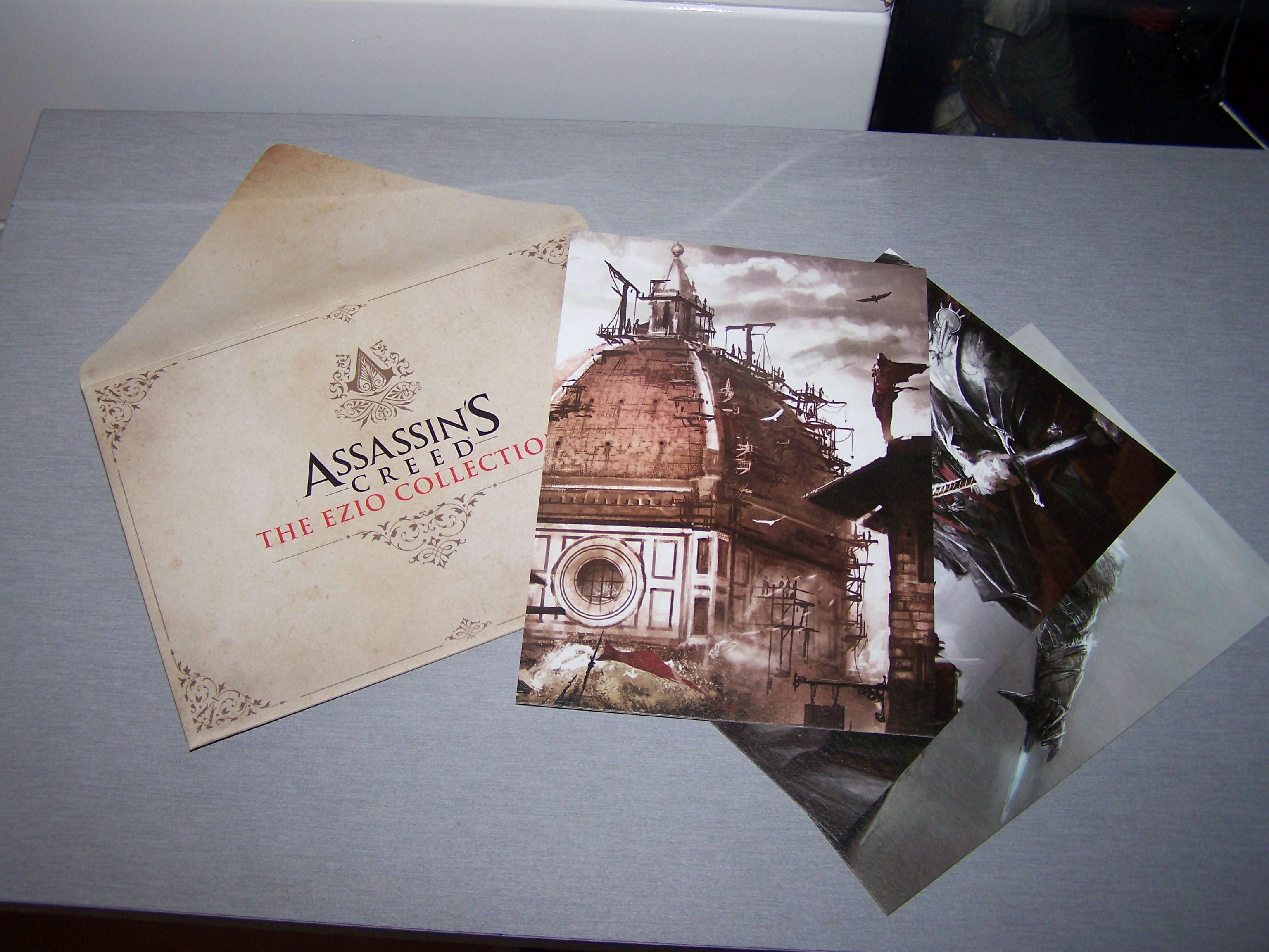 Assassin's Creed Ezio Collection Lithographies