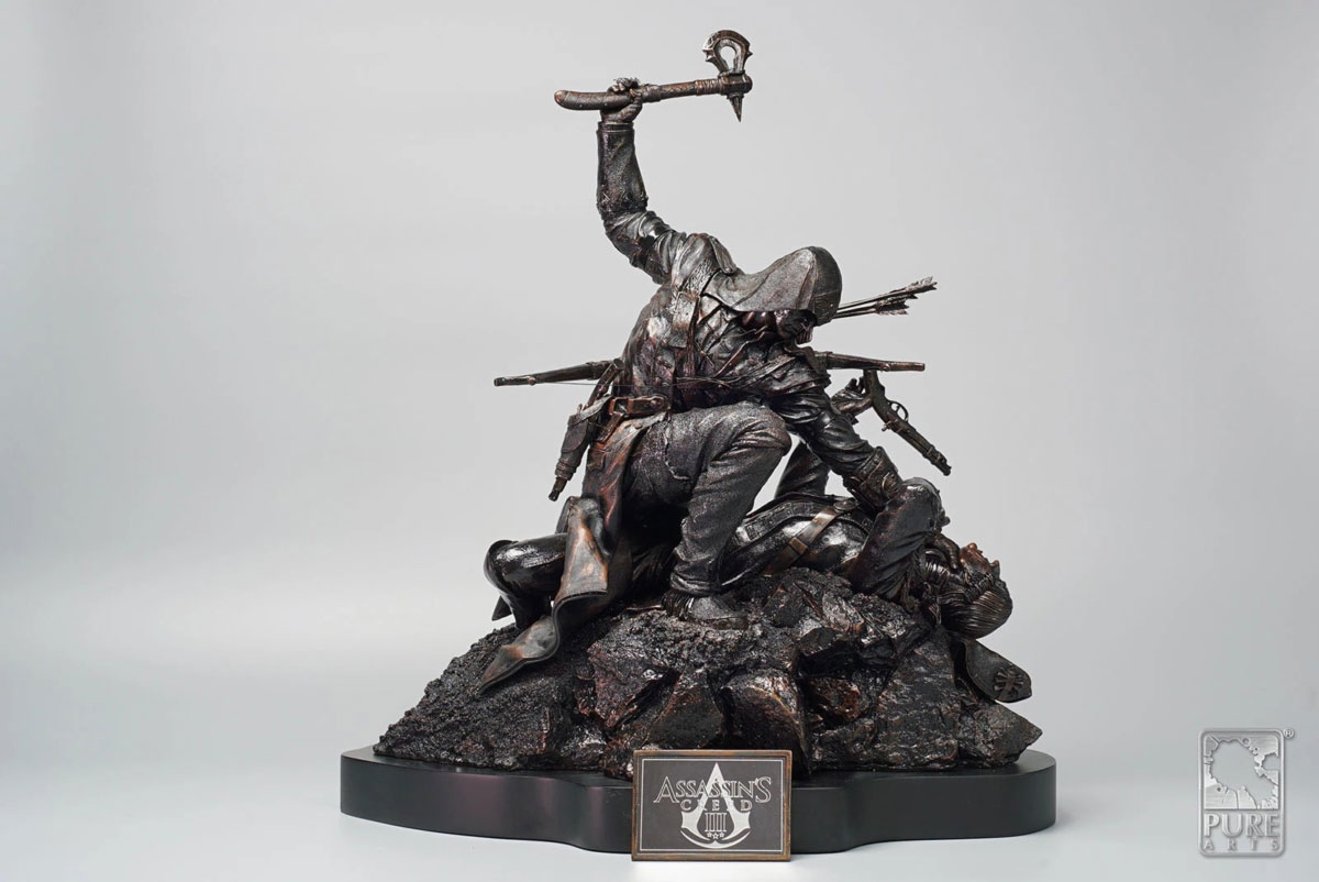 Statue de Connor premium version bronze