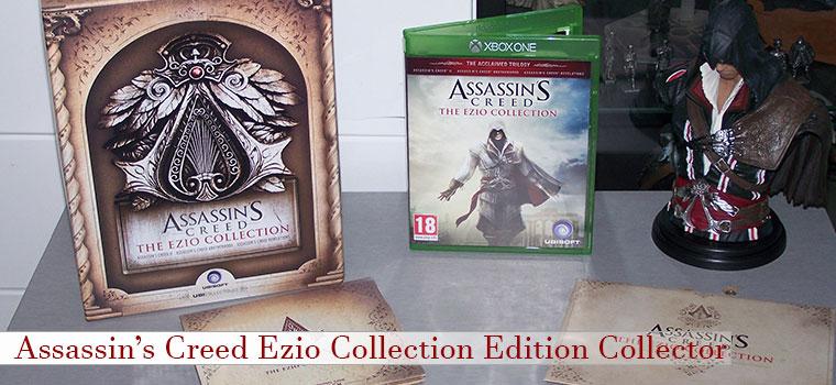 Edition Collector Assassin's Creed Ezio Collection