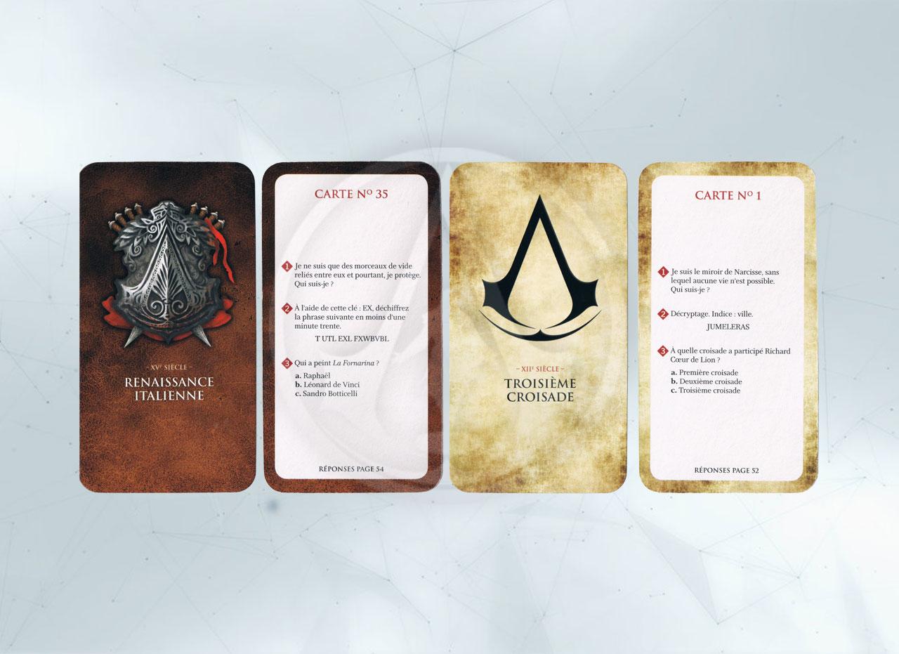 La boîte à énigmes cartes