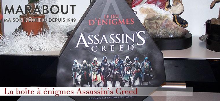 Boîte à énigmes Assassin's Creed