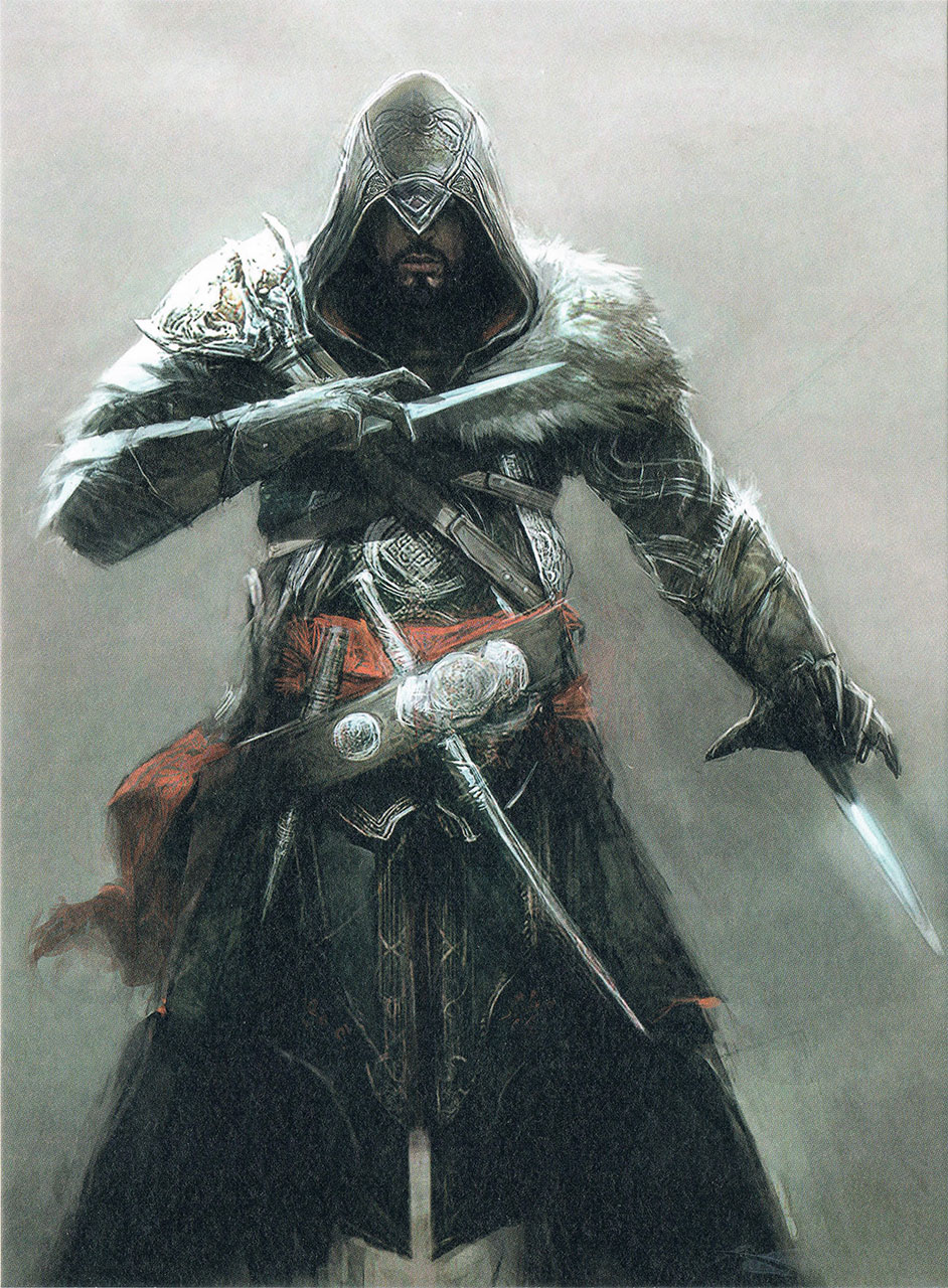 Assassin's Creed Ezio Collection Lithographie AC Revelations